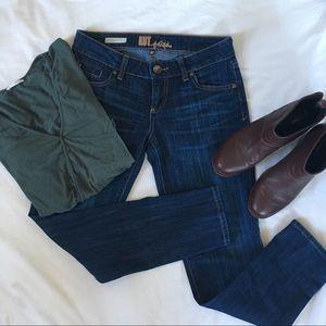 Kut from The Cloth Petite Boyfriend Skinny Jeans
